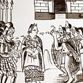 Cortes & Montezuma, 1519 by Granger