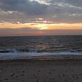 Corton Beach Emerging Ocean Sun 1 by Richard Griffin