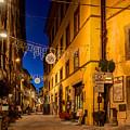 Cortona Via Nazionale by Al Hurley