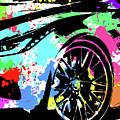 Corvette Pop Art 3 by Ricky Barnard