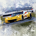 Corvette Racing by Karl Knox Images