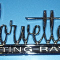 Corvette Sting Ray by Pamela Walrath