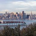 Cosco Shipping In San Francisco by John McGraw