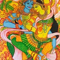 Cosmic Dance Of Krsna  by Sukkanya Ramanathan