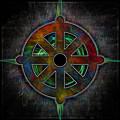 Cosmic Dharma Wheel by Ray Van Gundy