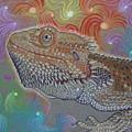 Cosmic Dragon by Angela De Riso