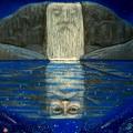 Cosmic Wizard Reflection by Sue Halstenberg