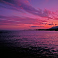Costa Del Sol Sunset In Marbella by Marie Hicks