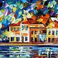 Costal Glimpse by Leonid Afremov