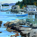 Costal Maine by Michael McDougall