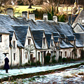 Cotswold Scene by Andrew Michael