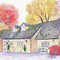 Cotswolds Cottage by Marsha Karle