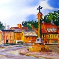 Cotswolds Town Center by Larry Hamilton