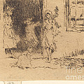 Cottage Door by James Mcneill Whistler