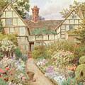 Cottage Garden by Thomas Nicholson Tyndale