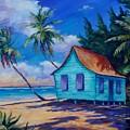 Beach Cottage by John Clark
