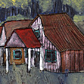 Cottage In The Woods by Wayne Potrafka