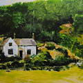 Cottage In Wales by Harry Robertson