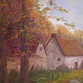 Cottage On The Moors by Belinda Consten