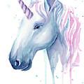 Cotton Candy Unicorn by Olga Shvartsur