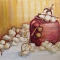 Cotton Plant by Leslie Dobbins