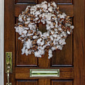 Cotton Wreath by Dale Powell