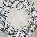 Cotton Wreath by Lora McGowan