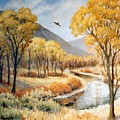 Cottonwood Canyon Autumn by JoAnne Corpany