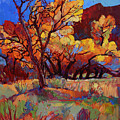 Cottonwood Flame by Erin Hanson