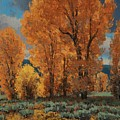 Cottonwood Glory by Lanny Grant
