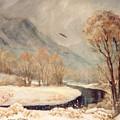 Cottonwood Winter by JoAnne Corpany