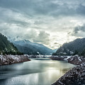 Cougar Reservoir On A Snowy Day by Belinda Greb