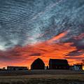 Country Barns Sunrise by Joann Long