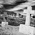 Country Cemetery by Mick Burkey