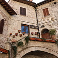 Country Charm Assisi Italy by Kisler Creations