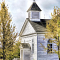 Country Church At Old World Wisconsin by Christopher Arndt