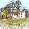 Country Church by Bruce Arvon