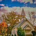Country Church by John Prickett