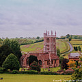 Country Church Wadsworth, England by Diane Shirley