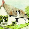 Country Cottage England  by Morgan Fitzsimons