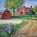 Country Estate by B Kathleen Fannin