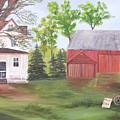 Country Farm by Rich Fotia