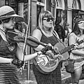 Country In The French Quarter 3 Bw by Steve Harrington
