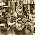 Country In The French Quarter 3 Sepia by Steve Harrington