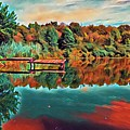 Country Lake by Michael Lynn Attaway