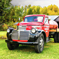Country Life - 1946 Gmc Truck by TL Mair