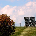 Country Life - Evening Relaxation by Arlane Crump