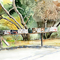Country Mailboxes by Arline Wagner