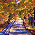 Country Road by David Lloyd Glover