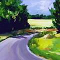Country Road by Outre Art  Natalie Eisen